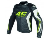 VR46 D2 LEATHER JACKET Dainese