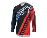 ALPINESTARS RACER SUPERMATIC JERSEY BLACK RED BLUE