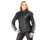Sweep Dina ladies leather jacket