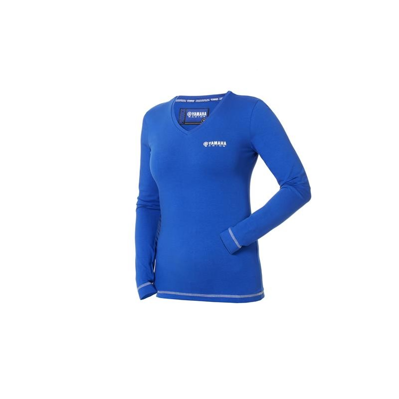 Paddock Blue Women's Long Sleeve T-shirt Yamaha Original
