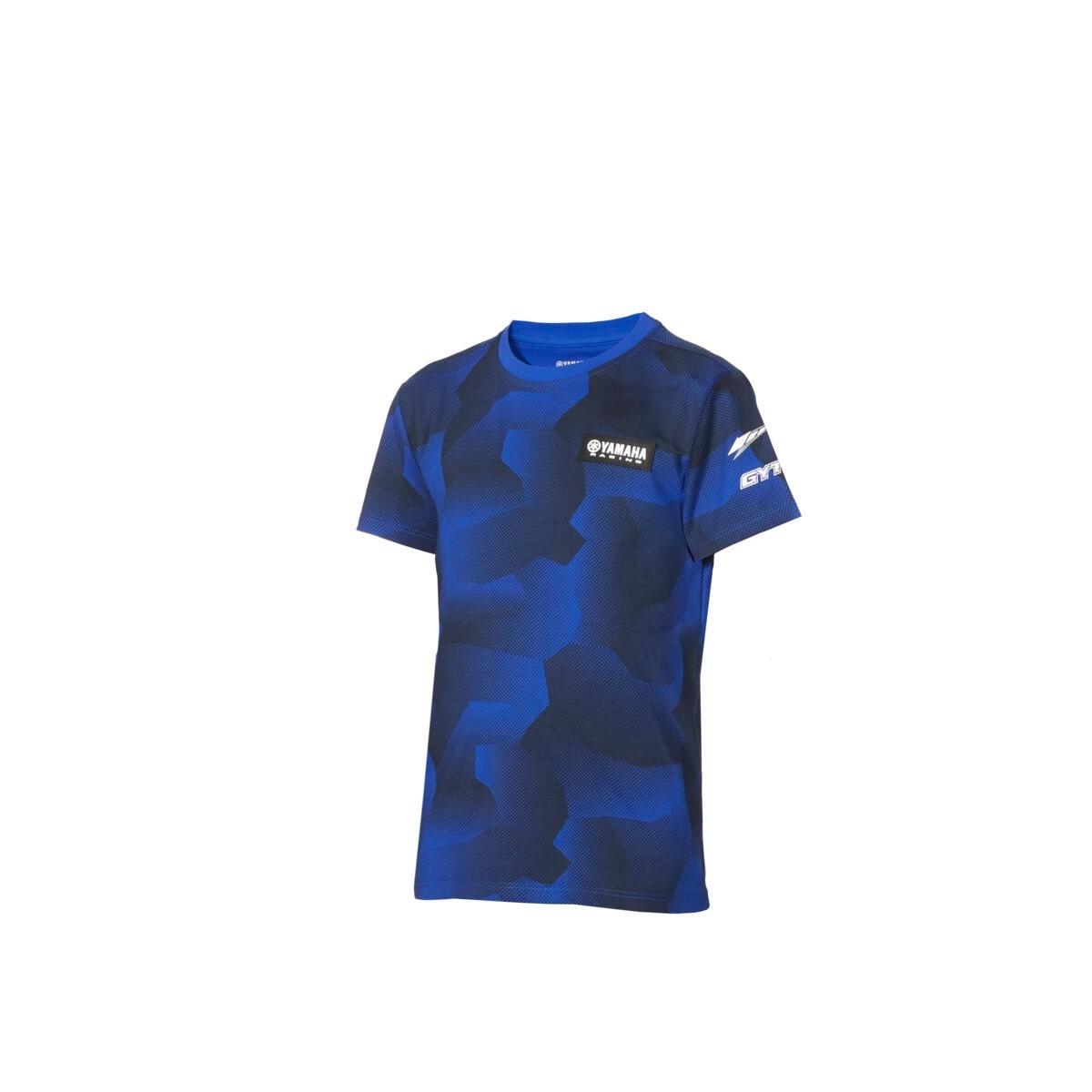 Paddock Blue Kids Camo T-Shirt