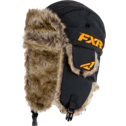 Trapper hat black FXR