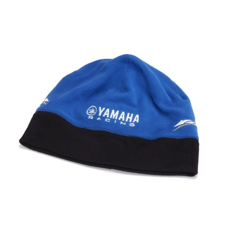 Paddock Blue Reversible Fleece Beanie Yamaha Original