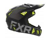 FXR Clutch Evo Helmet - Black & Hi-Vis