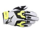 ALPINESTARS SMX-3 AIR GLOVE WHITE BLACK YELLOW