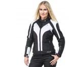 Sweep Lioness waterproof ladies jacket, black/white/pink