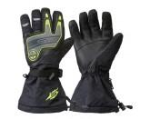 Sweep Renegade Snowmobile Glove, Black/Yellow