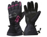 Sweep Scout Snowmobile Glove, Black/Pink