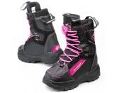 Sweep Yeti snowmobile ladies boots black/pink