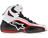 Faster-2 Black White Red Alpinestars