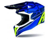 Airoh Helmet Wraap Youth Mood blue gloss
