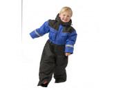 SnowPeople Safari kids overall blue/black