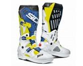 SIDI Atojo SRS MX Boot Yellow Fluo/White/Blue