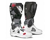SIDI Crossfire 3 SRS MX Boot White/Grey/Black