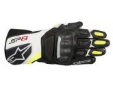 Alpinestars Glove SP-8 V2 black/white/fluo yello