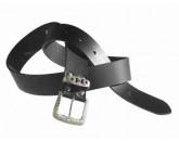 Halvarssons Leather Belt Black