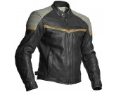Halvarssons Leather jacket Eagle Black/grey