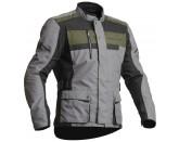 Lindstrands Textile jacket Hamar Fog/black