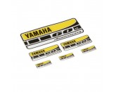 60th Anniversary Stickers Set Yamaha