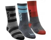 IXS Triplet Socks (3-Pack)
