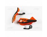 UFO Patrol universal brush guards kit orange