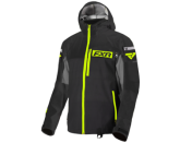FXR Men's Carbon Tri-Lam Black & Hi-Viz Jacket