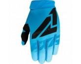 FXR Racing Youth Sky Blue Clutch Strap MX Gloves